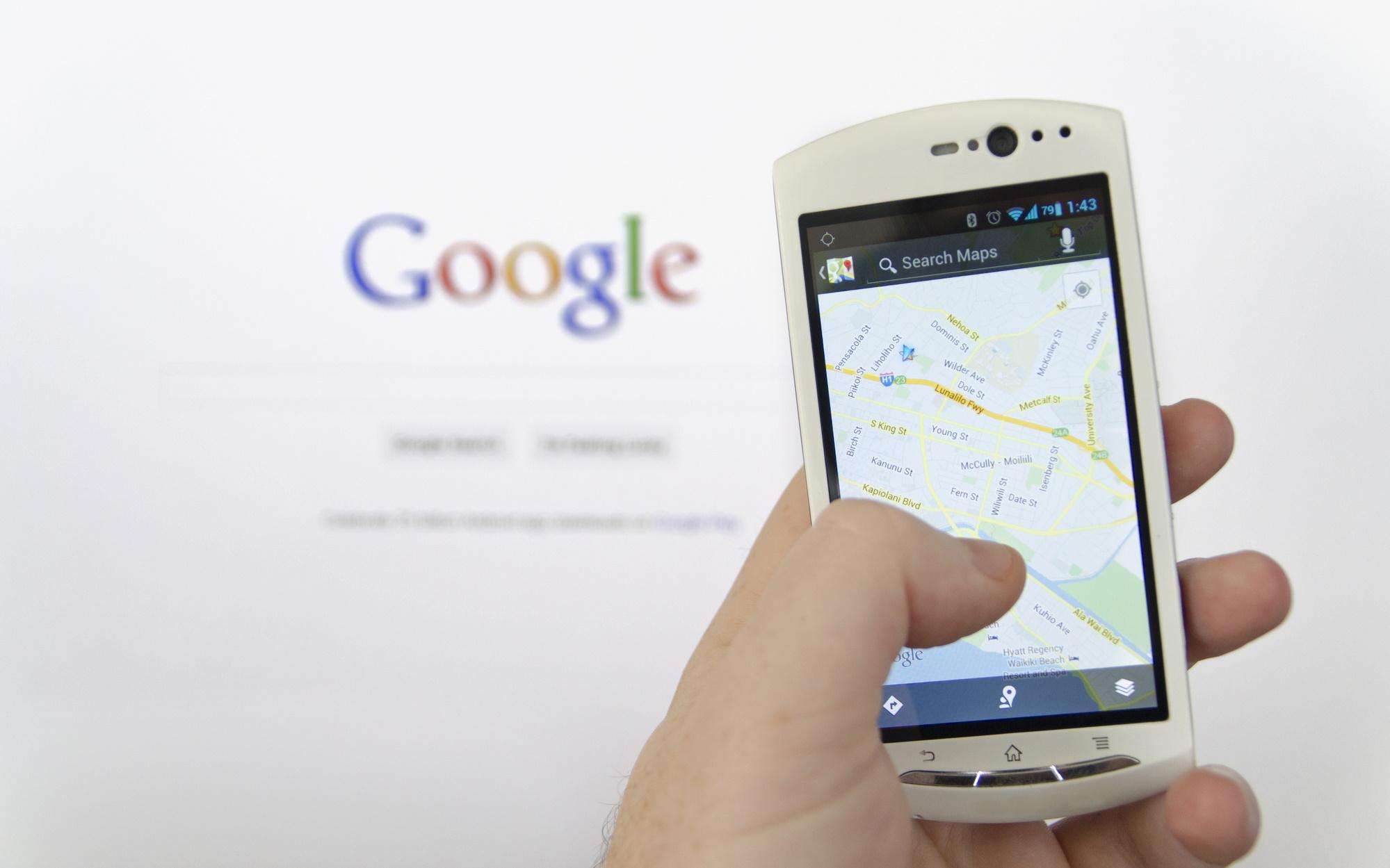 Google sammelt Daten